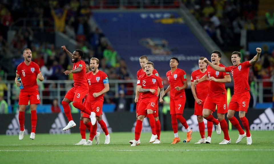 Colômbia-Inglaterra, 1-1 (3-4 gp) (crónica)