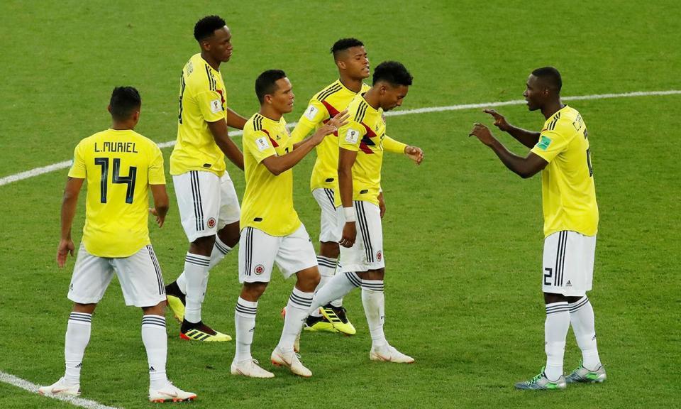 Colômbia vence Venezuela em particular com reviravolta