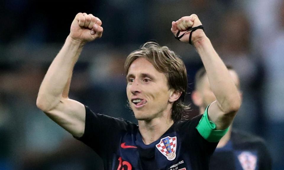 Justiça croata retirou queixas contra Luka Modric