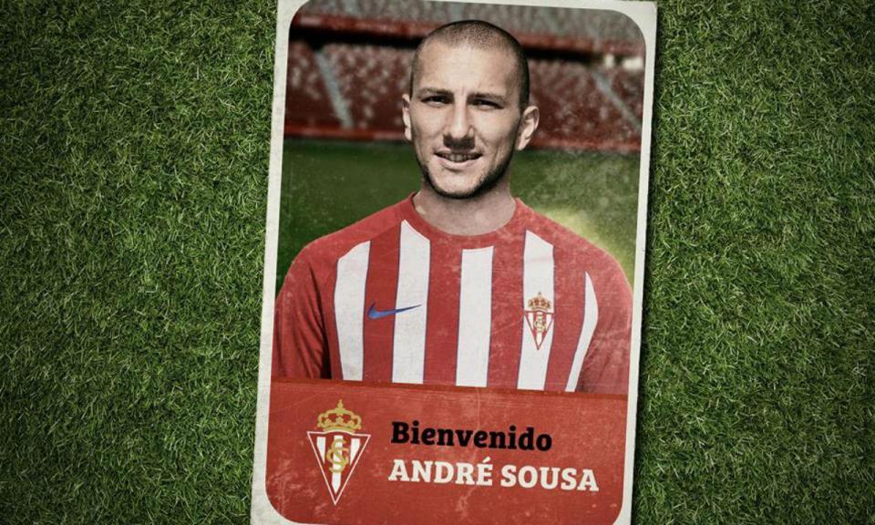 André Sousa na II Liga espanhola cedido pelo Belenenses