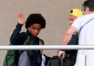Seleção brasileira chegou a Kazan (foto Lusa)