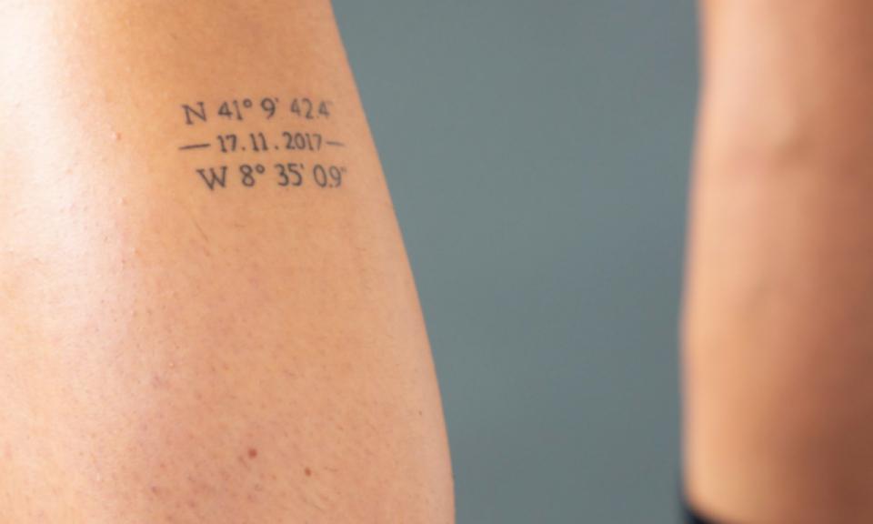 FOTO: André Pereira tem tatuagem com a estreia pelo FC Porto
