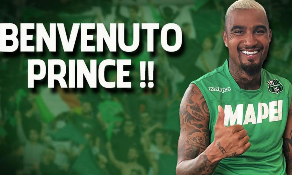 Sassuolo anunciou contratação de Kevin-Prince Boateng