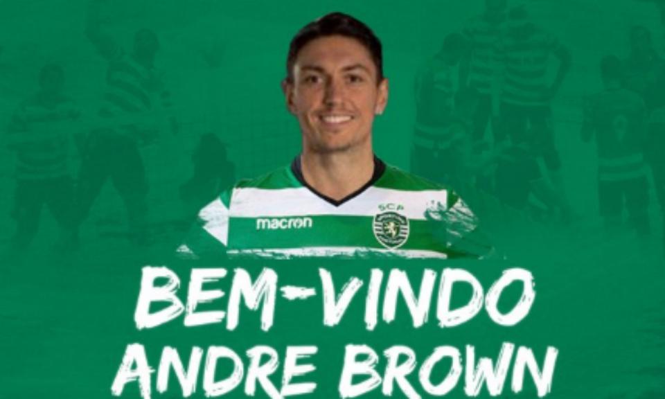 Voleibol: canadiano Andre Brown é reforço do Sporting