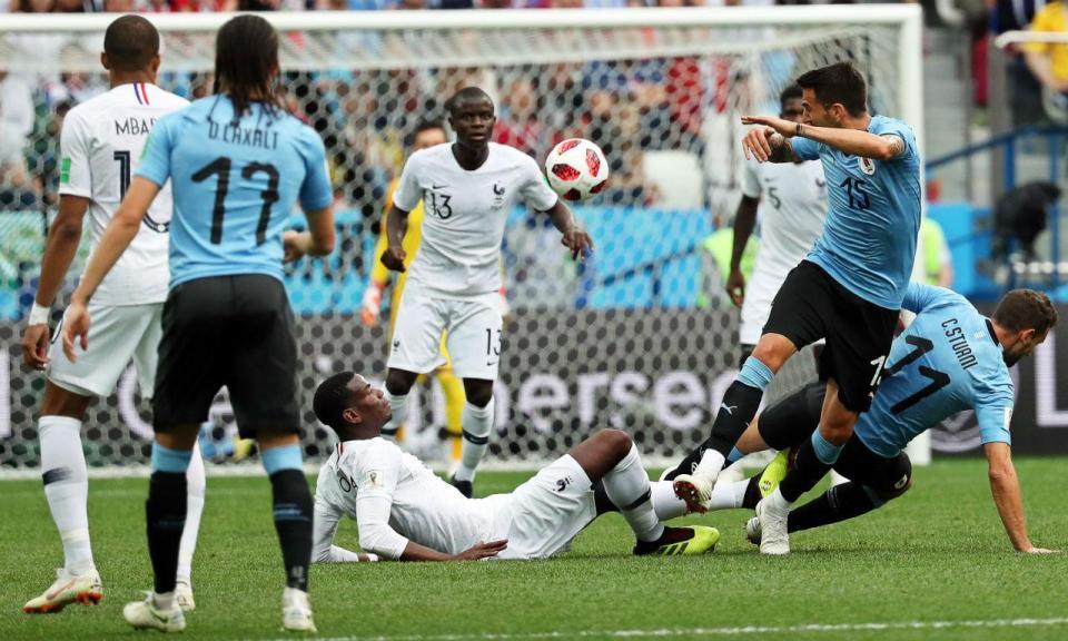 Mundial 2018: Uruguai-França, 0-2 (crónica)