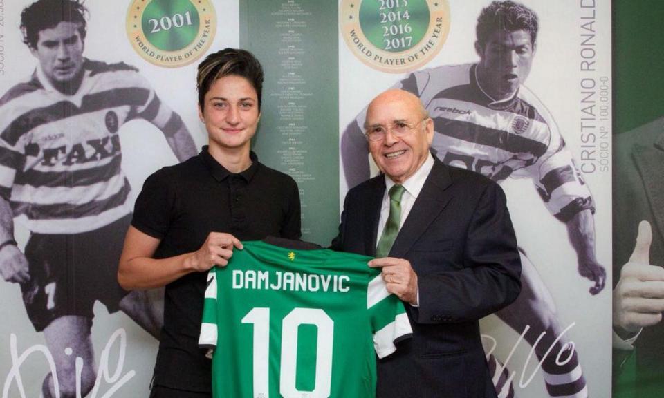 Futebol feminino: Sporting contrata internacional sérvia