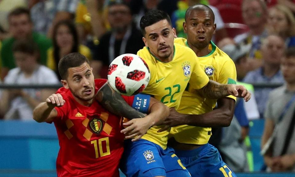 Mundial 2018: Brasil-Bélgica, 1-2 (resultado final)