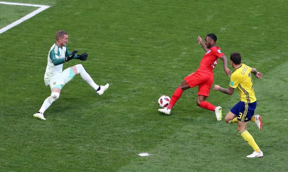 Mundial 2018: Suécia-Inglaterra, 0-2 (resultado final)