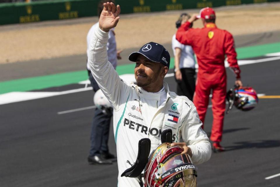 """Lewis Hamilton: """"Esta é uma das melhores pole position de sempre"""""""