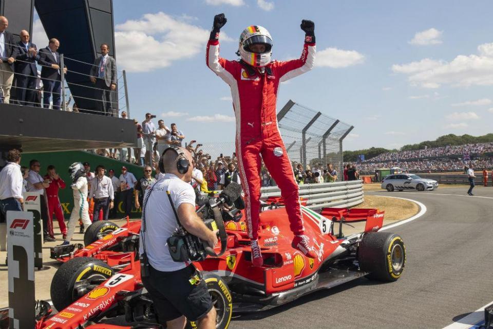 F1: Vettel vence o GP da Grã-Bretanha
