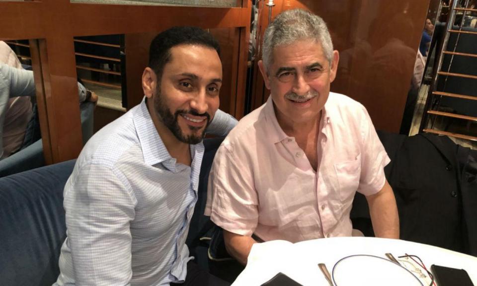 FOTO: Luís Filipe Vieira esteve reunido com presidente do Al Hilal
