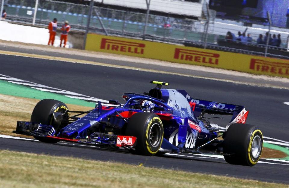 F1: Pierre Gasly penalizado após a corrida de Silverstone e perde 10.º lugar