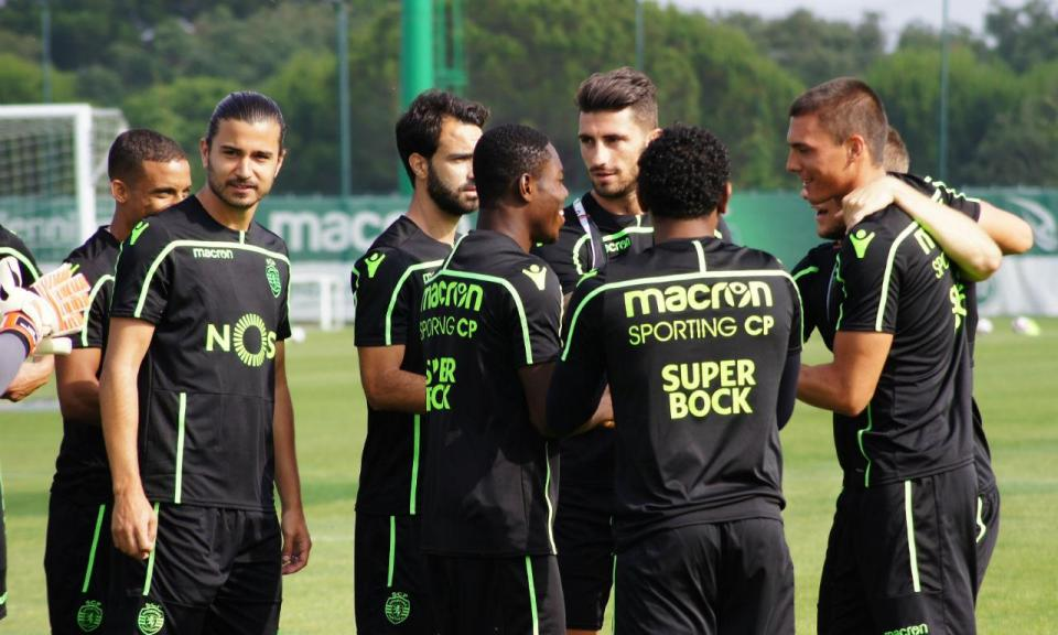 Sporting  jogo treino com o Sion cancelado  430363a1bdc16