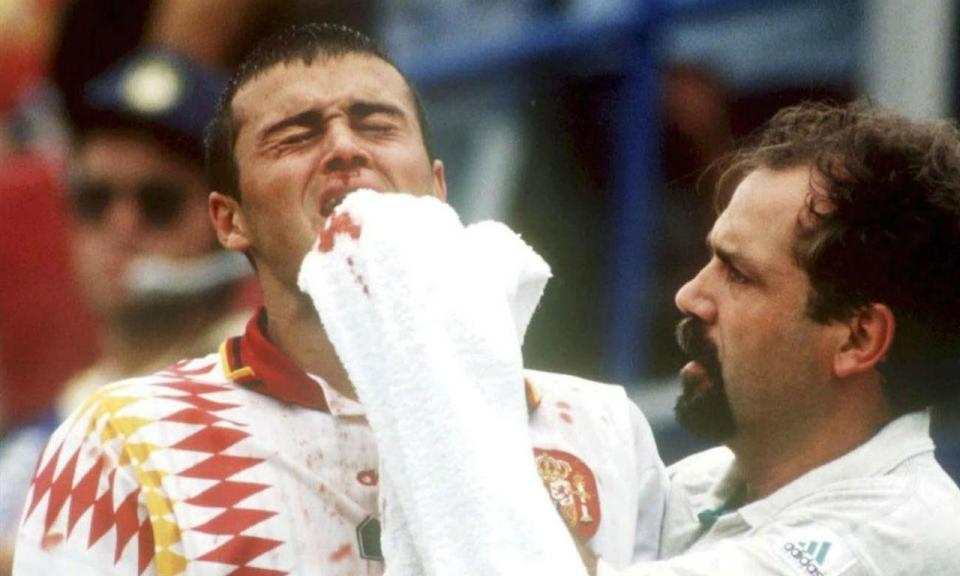 VÍDEO: há 24 anos Luís Enrique levou a cotovelada mais famosa dos Mundiais