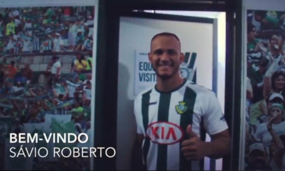 OFICIAL: Sávio Roberto é reforço do Vitória de Setúbal