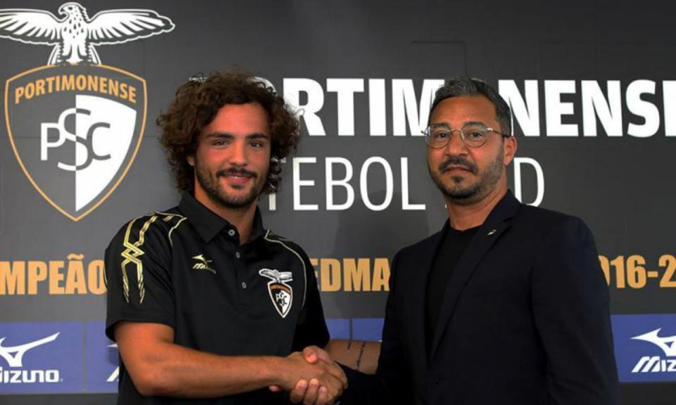 Portimonense: confirmado regresso imediato de Rafael Barbosa ao Sporting