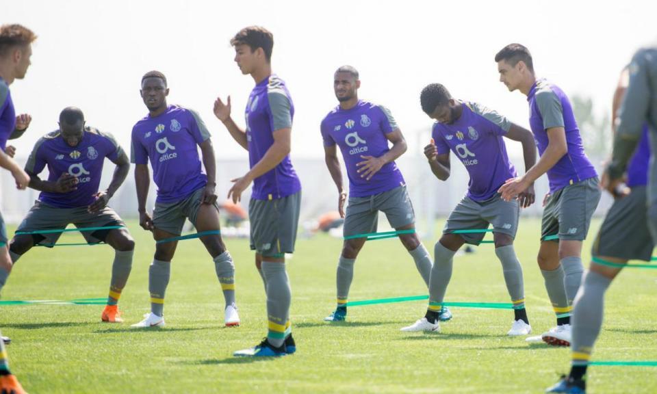 FC Porto: três baixas no último treino antes da viagem para Roma