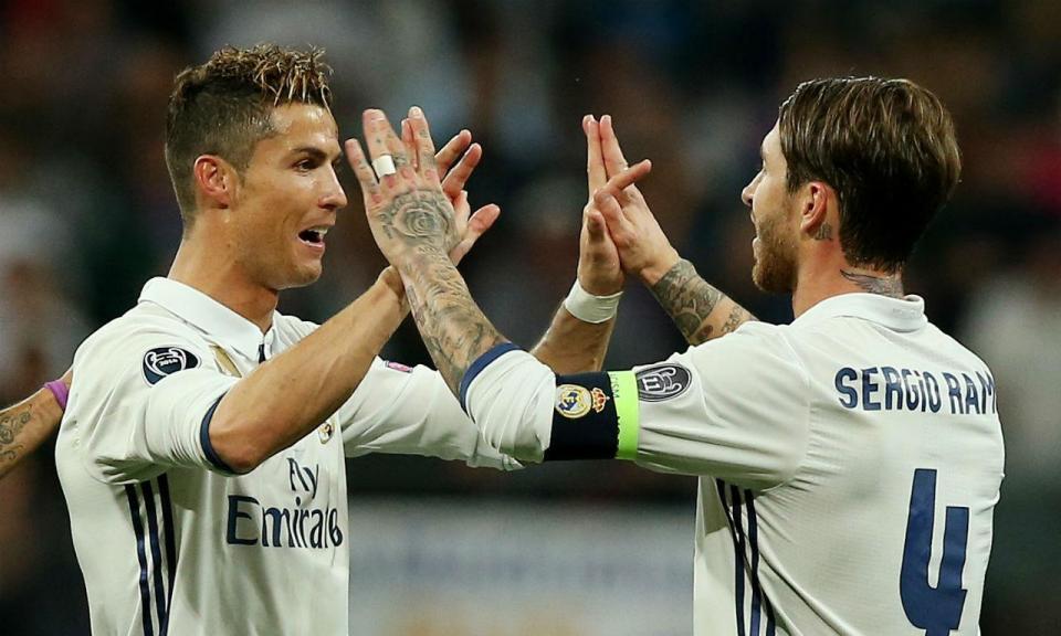 Ramos despede-se de CR7: «Foi um prazer jogar ao teu lado 'bicho'»