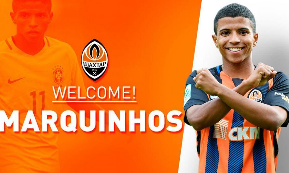 OFICIAL: Shakhtar contrata jovem extremo brasileiro