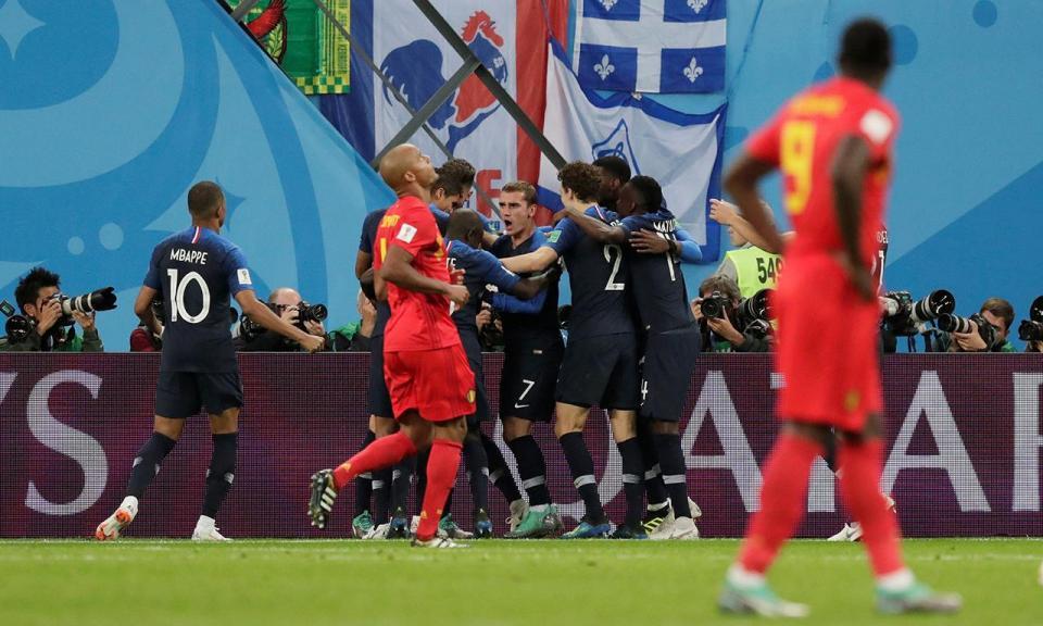 Mundial 2018: França-Bélgica, 1-0 (crónica)