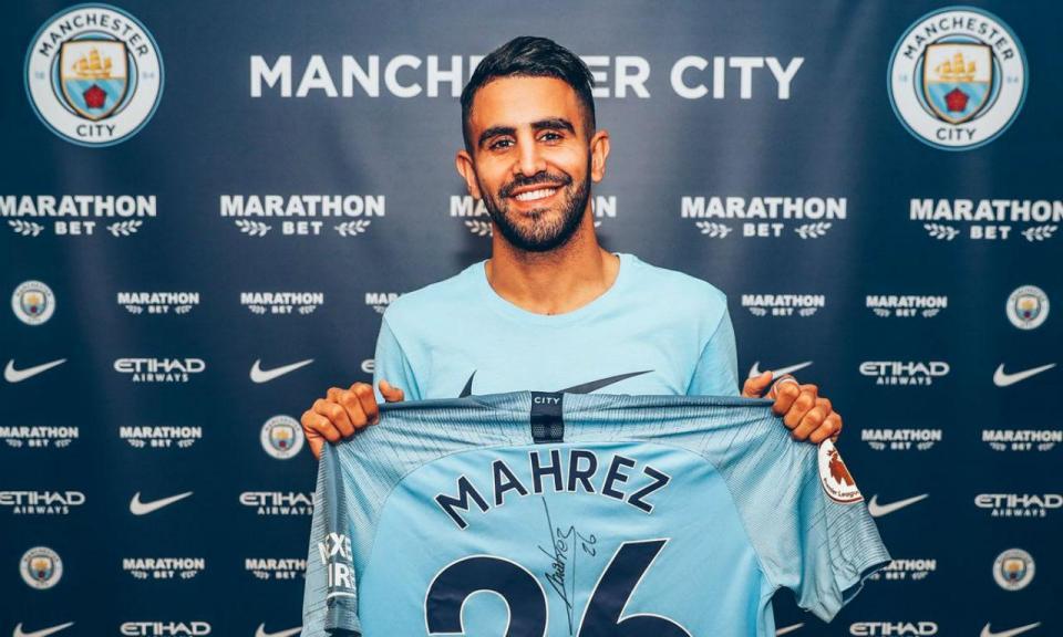 OFICIAL: Ryad Mahrez é reforço do Manchester City