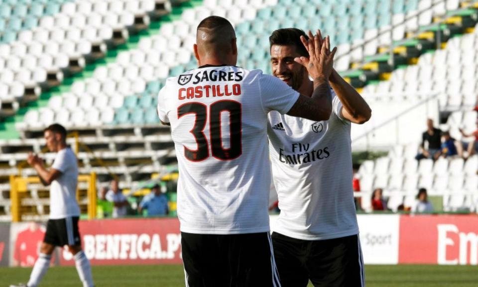 Benfica: Castillo no ginásio