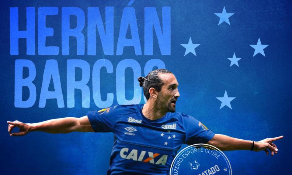 OFICIAL: Barcos (ex-Sporting) reforça o Cruzeiro