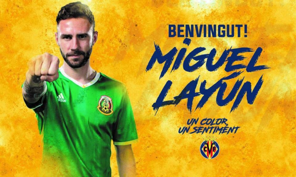 OFICIAL: Miguel Layún no Villarreal