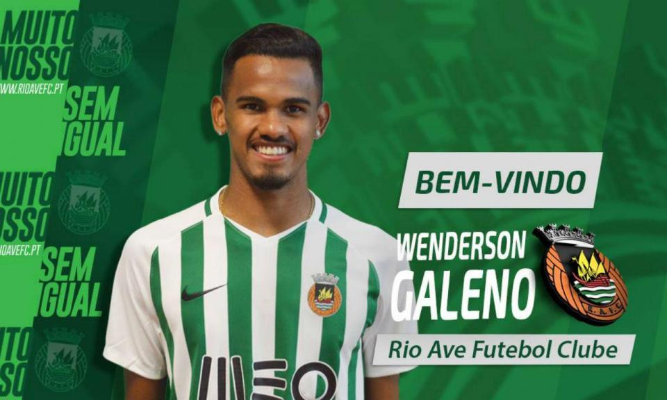 OFICIAL: Galeno no Rio Ave por empréstimo do FC Porto