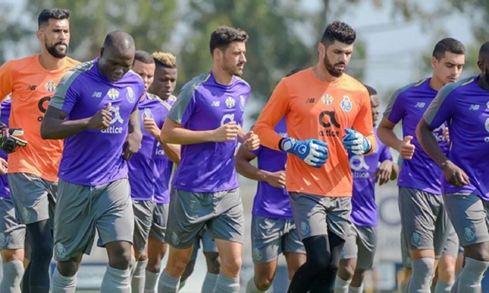FC Porto prepara final da Taça quase na máxima força