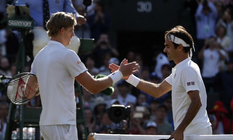 Escândalo em Wimbledon: Kevin Anderson afasta Federer das meias-finais