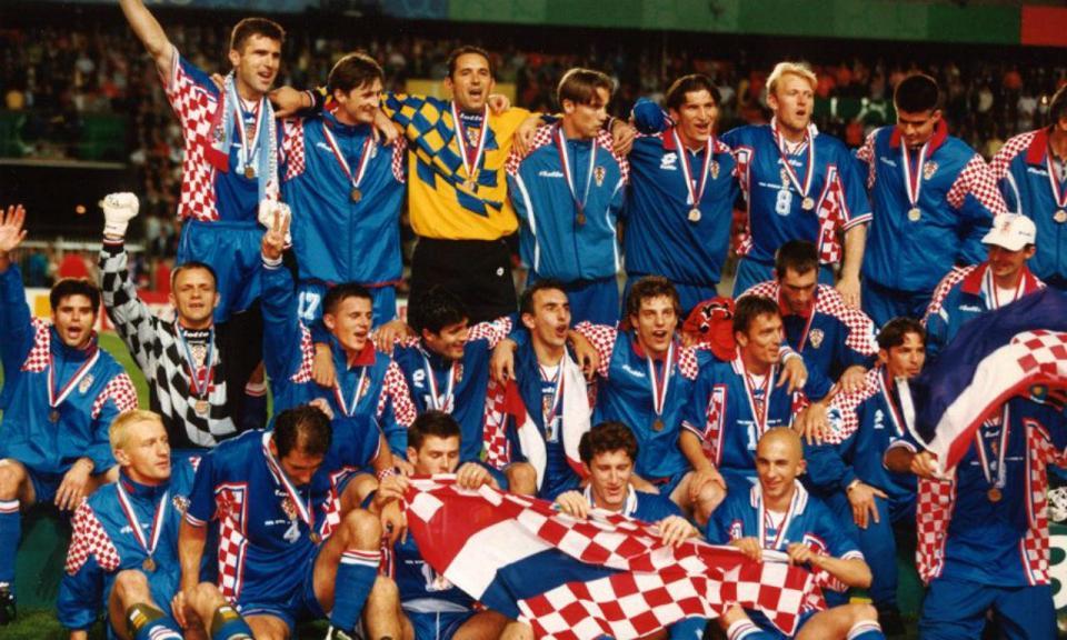 Federação croata convida equipa de 98 para assistir à final