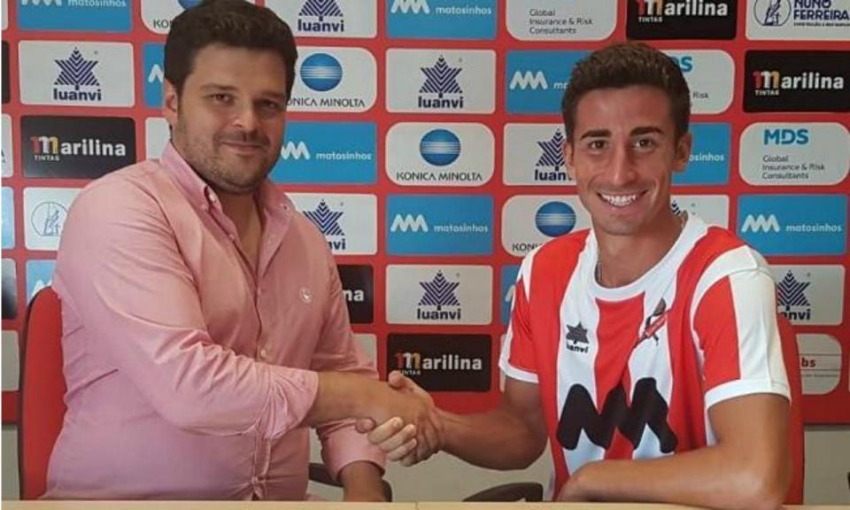 OFICIAL: André Ceitil assina pelo Leixões por três temporadas