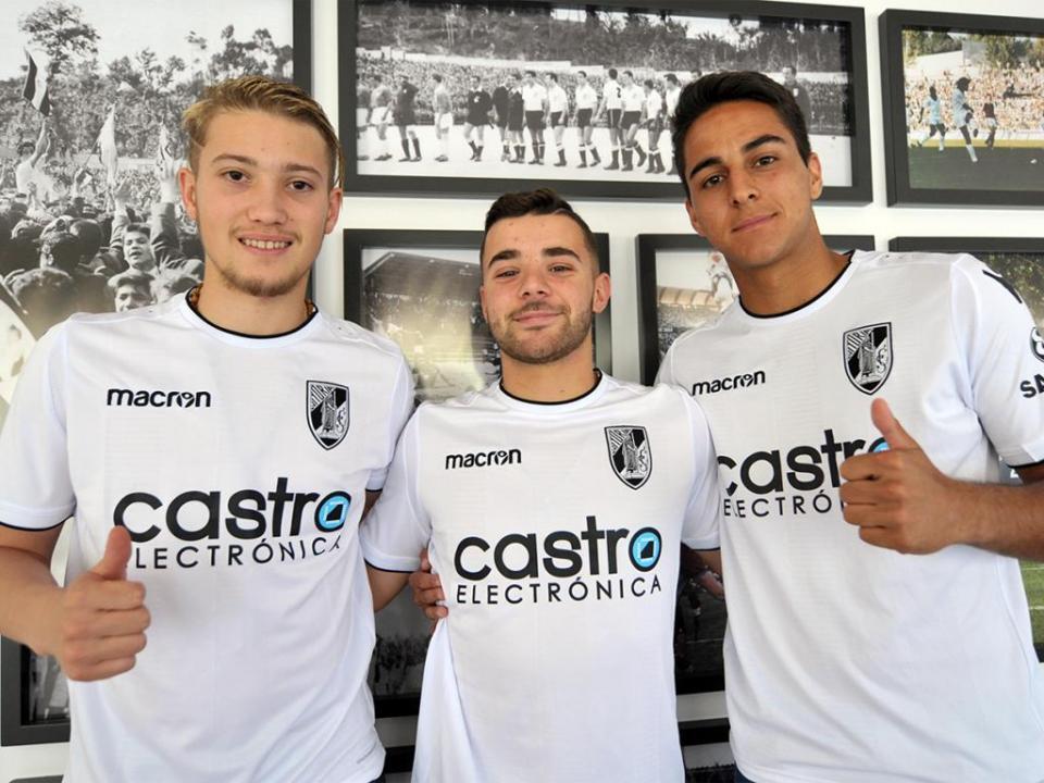 V. Guimarães contrata três internacionais sub-18