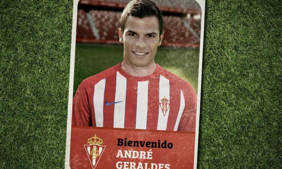 OFICIAL: Sporting empresta André Geraldes ao Sp. Gijón