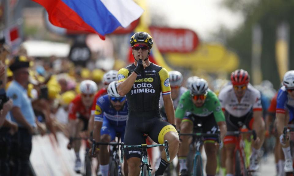 Tour: Groenewegen vence sétima etapa