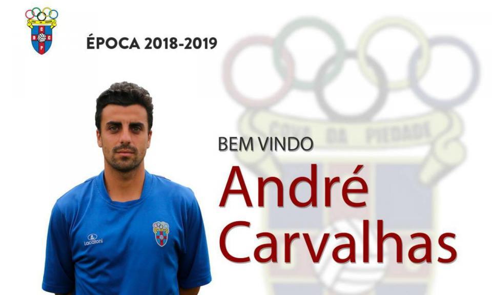 OFICIAL: André Carvalhas regressa ao Cova da Piedade
