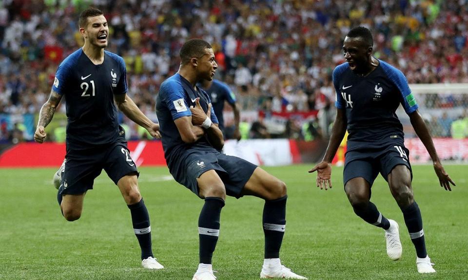 França-Croácia, 4-2 (crónica)