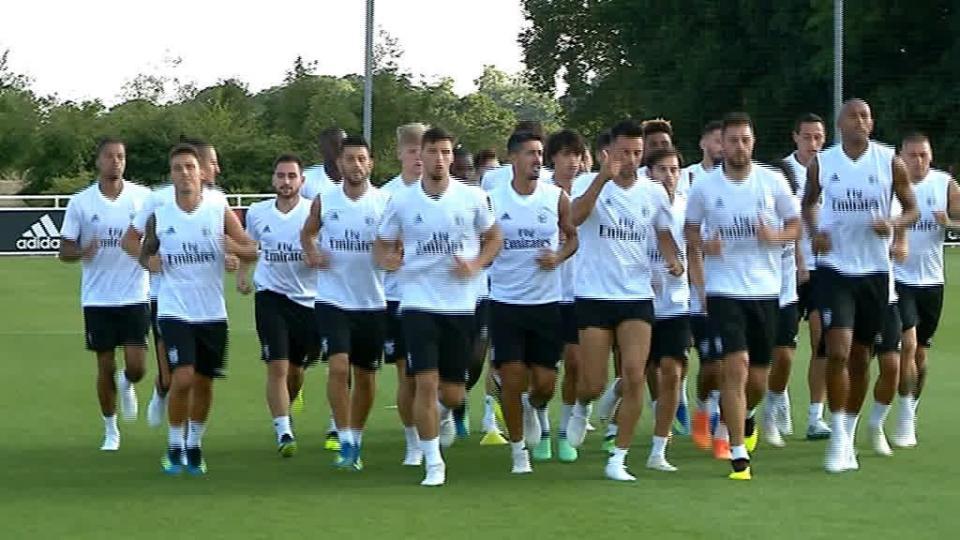 Benfica: Gabriel fora do treino do Leganés pelo segundo dia
