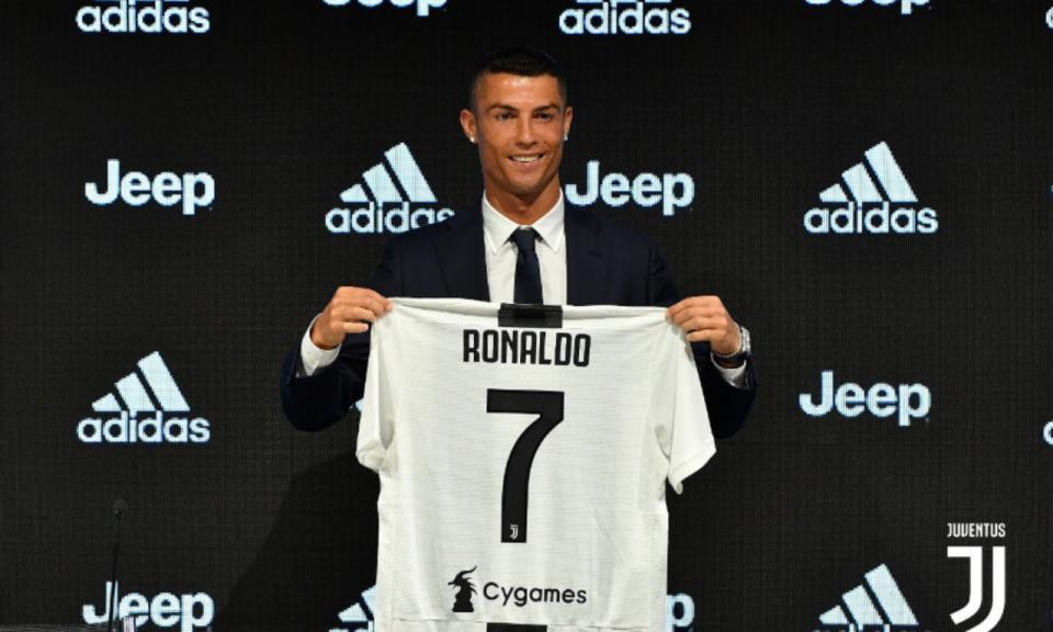 Ronaldo: «Quando era criança sonhava jogar na Juventus»