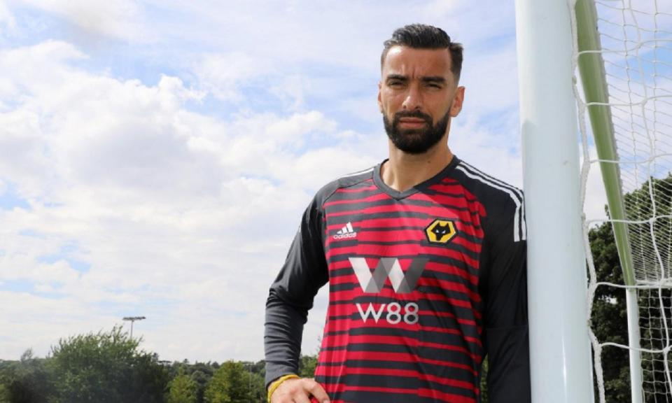 Wolves: Patrício vai mesmo jogar com número 11