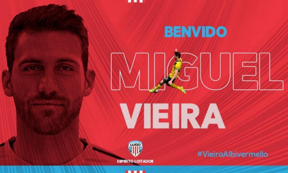 OFICIAL: Miguel Vieira no Deportivo Lugo