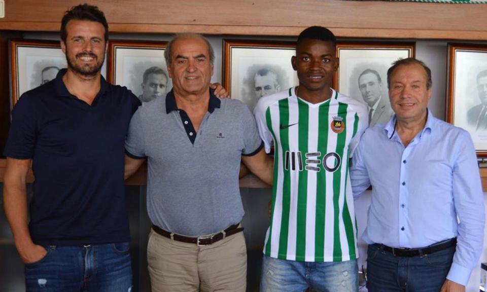 OFICIAL: Rio Ave volta a recrutar Gelson Dala ao Sporting