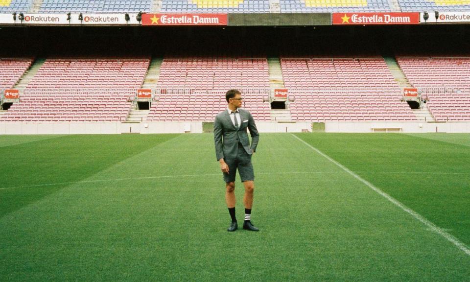 Barcelona: novo fato formal inclui calções em vez de calças
