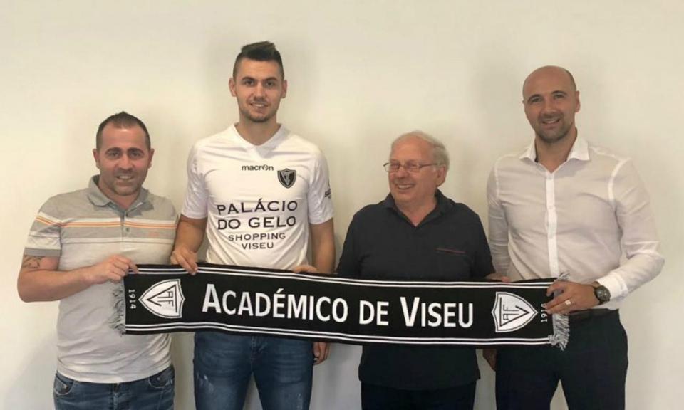 OFICIAL: Kokorovic reforça Académico de Viseu