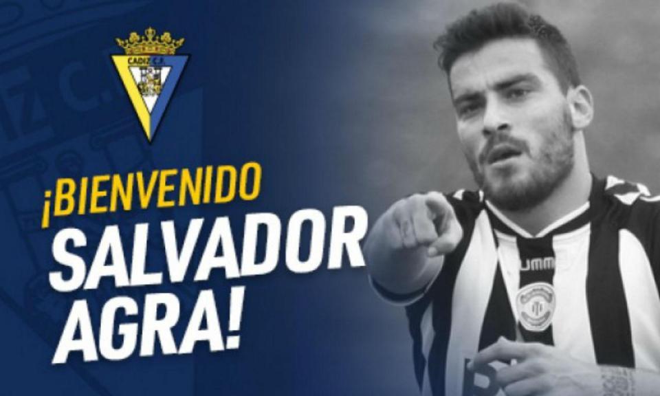 OFICIAL: Salvador Agra no Cádiz