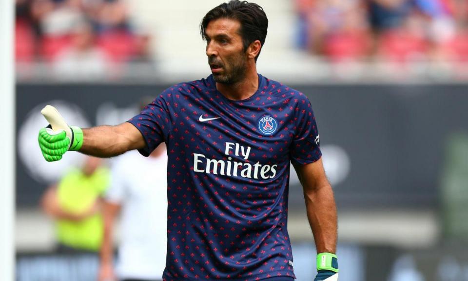 Buffon: «PSG propôs-me a renovação do contrato»