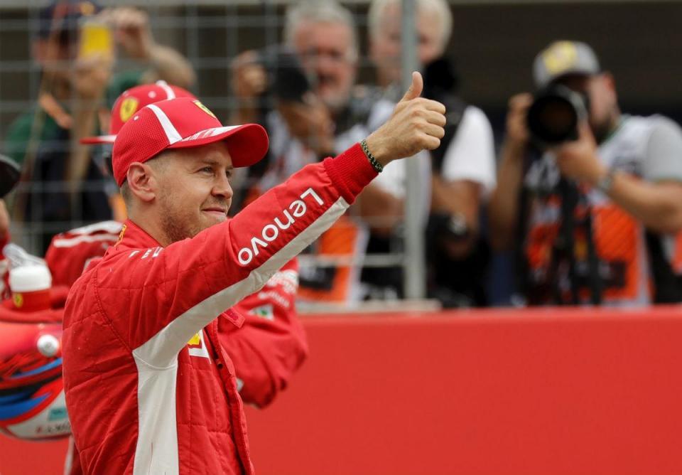 """Vettel: """"É uma grande sensação quando se faz tudo certo"""""""