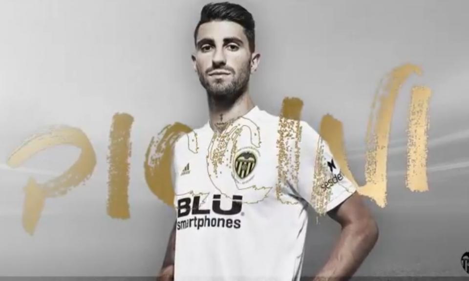 Piccini estreia-se pelo Valência em jogo com vários portugueses