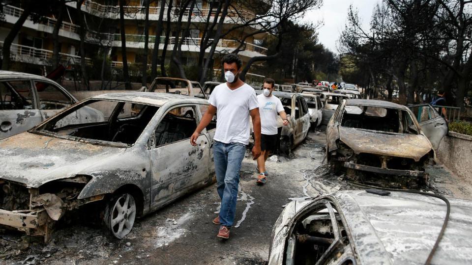 Incêndios: Olympiakos doa um milhão e pede a adeptos que contribuam